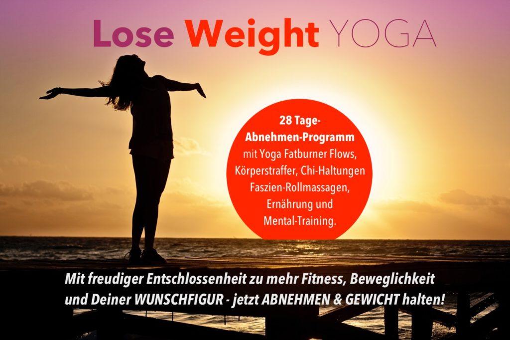 Yoga zum Abnehmen mit dem Lose-Weight Yoga Programm