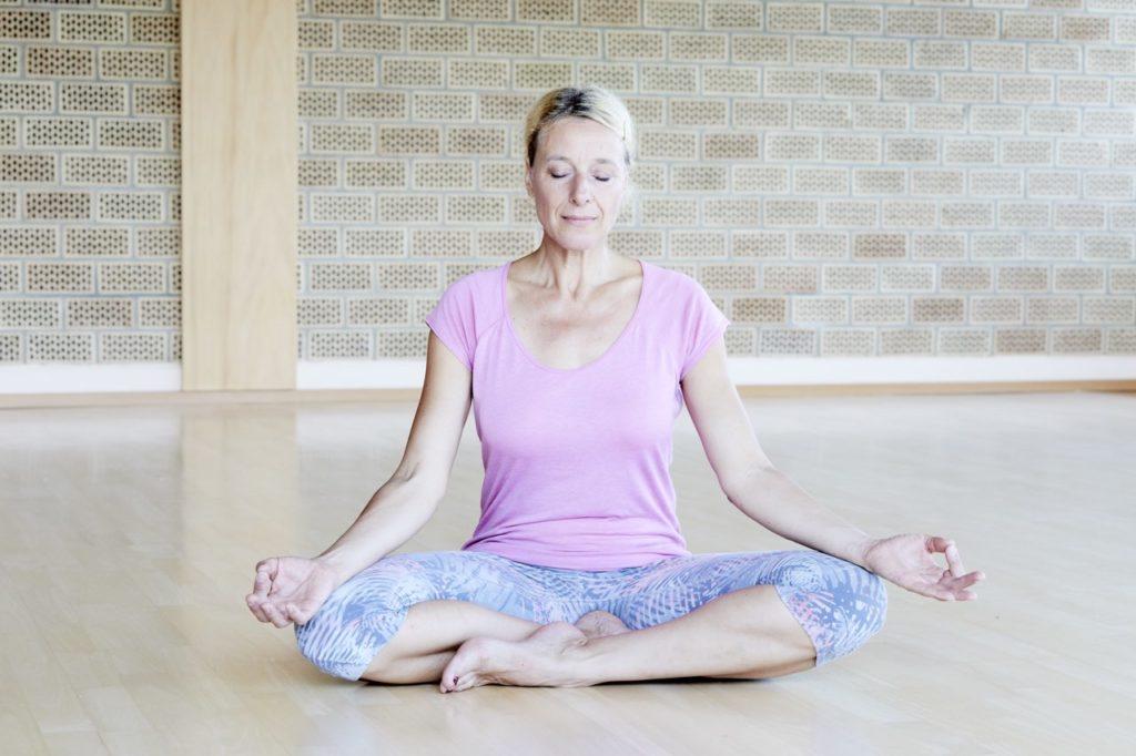 Yoga Übung zum Abnehmen: Mentaltraining